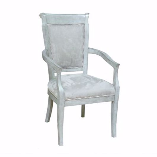 Picture of ARM CHAIR WITH CUSTOM FINISH