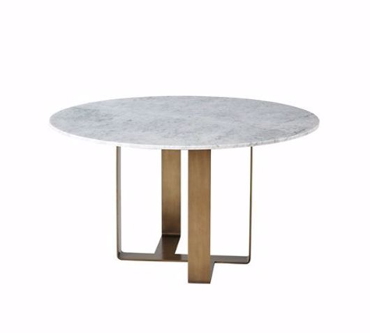 Picture of ADLEY MARBLE ROUND DINING TABLE