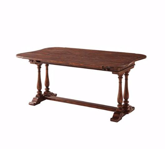 Picture of AN ENGLISH EVENING DINING TABLE