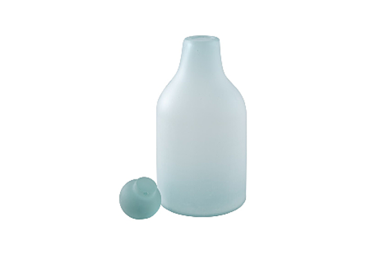 Picture of FROSTED GLASS BOTTLE MD
