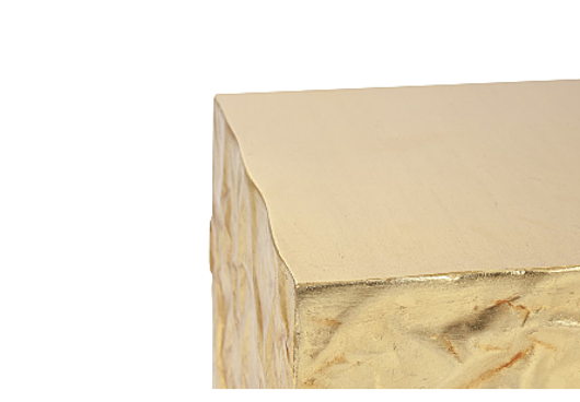 Picture of CRUMPLED PEDESTAL GOLD, SM