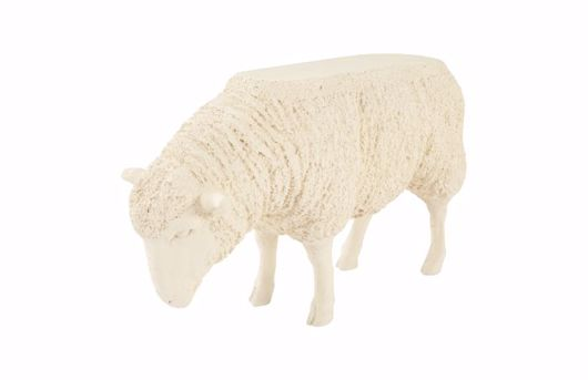 Picture of SHEEP SIDE TABLE APRICOT