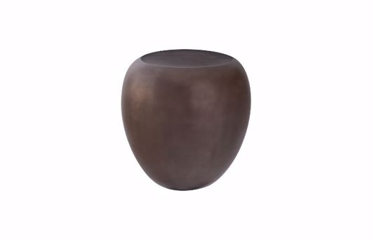 Picture of RIVER STONE SIDE TABLE BRONZE