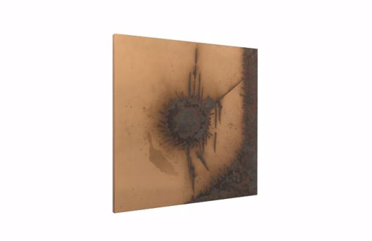 Picture of ABSTRACT COPPER PATINA WALL ART CIRCLE