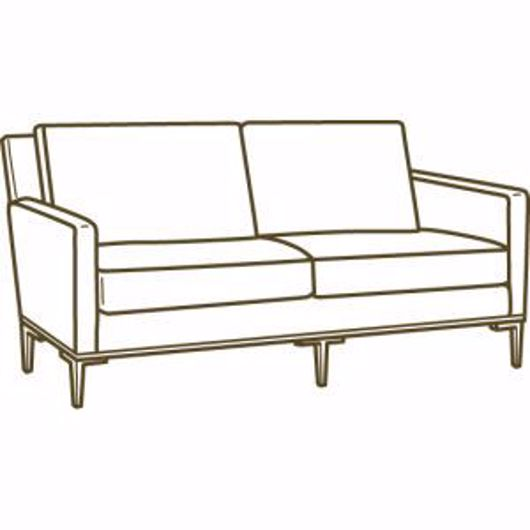 Picture of 1299-32 TWO CUSHION SOFA