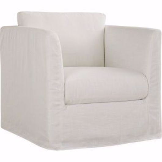 Picture of HAVANA OUTDOOR SLIPCOVERED SWIVEL CHAIR