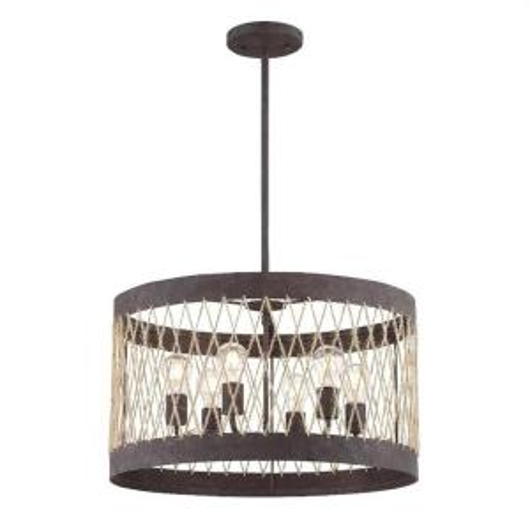 Picture of ANDERS - 6 LIGHT CHANDELIER
