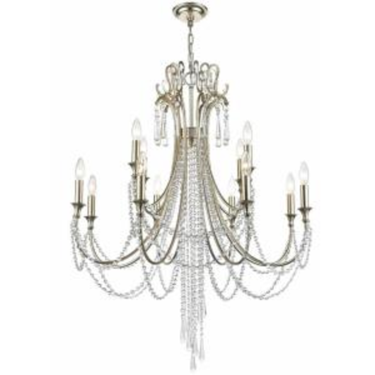 Picture of ARCADIA - TWELVE LIGHT CHANDELIER