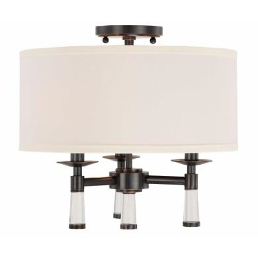 Picture of BAXTER - THREE LIGHT FLUSH MOUNT