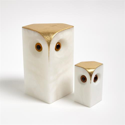 Picture of ALABASTER OWLS