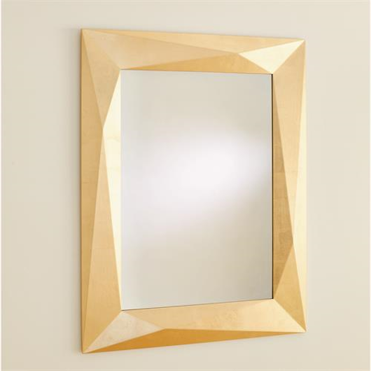 Picture of ANGULAR MIRROR-GOLD LEAF