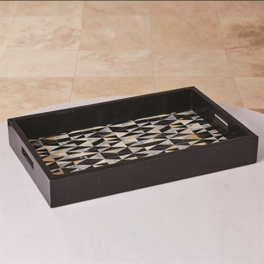 Picture of BRASS DIAMOND TRAY