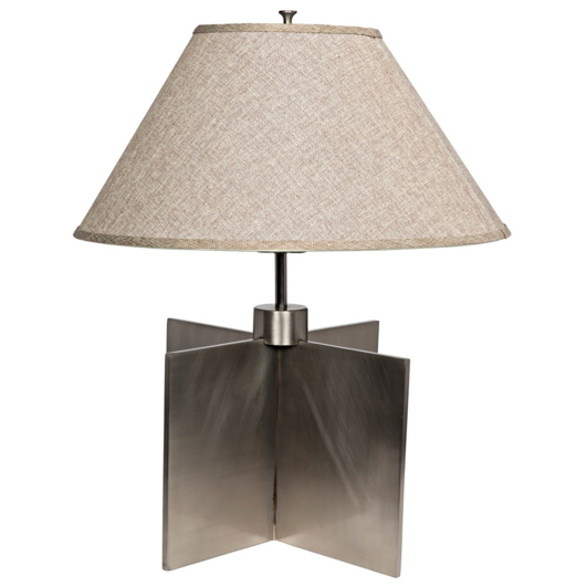 Picture of ARCHITECTURAL LAMP WITH SHADE, SILVER FINISH