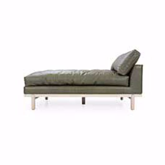 Picture of CANTOR LEATHER CHAISE