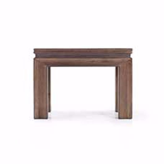 "Picture of APTOS 28"" END TABLE"