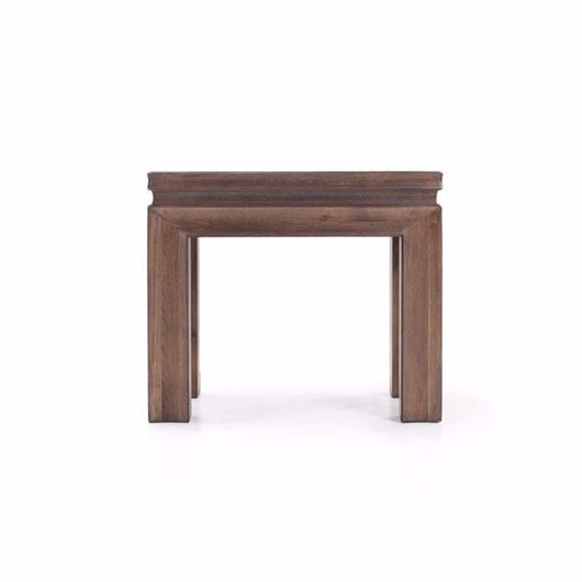 "Picture of APTOS 24"" SQUARE END TABLE"