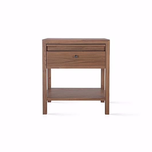 "Picture of ALDUS 24"" ELM NIGHTSTAND"