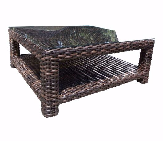 """Picture of LOUVRE 42"""" SQUARE COFFEE TABLE"""