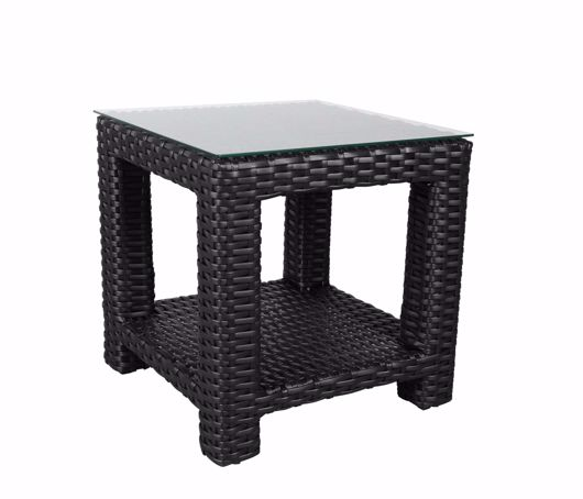 """Picture of BRIGHTON 24"""" SQUARE SIDE TABLE"""
