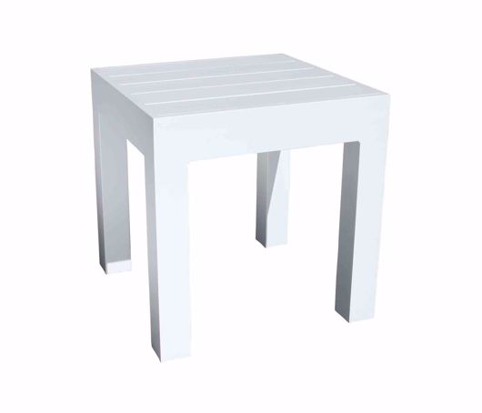 """Picture of GRAMERCY 19.5"""" SQUARE SIDE TABLE"""