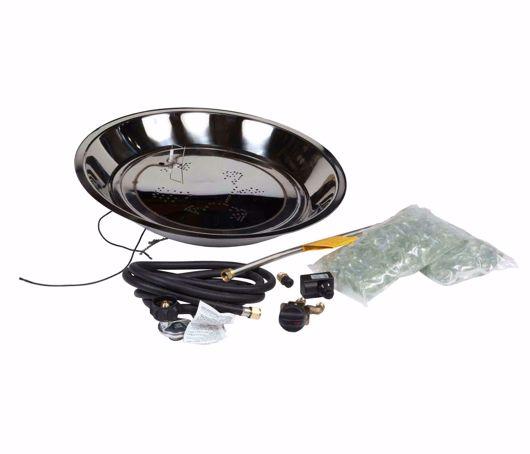Picture of ROUND OUTDOOR FIRE PIT BURNER