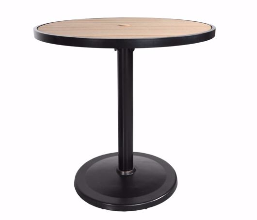 "Picture of KENSINGTON 42"" ROUND PEDESTAL BAR TABLE"