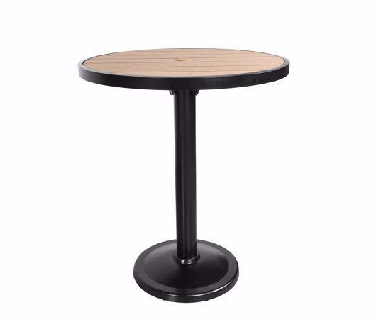 "Picture of KENSINGTON 36"" ROUND PEDESTAL BAR TABLE"