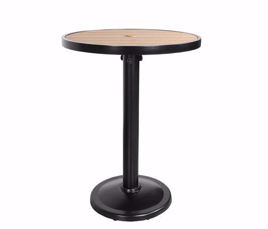 "Picture of KENSINGTON 32"" ROUND PEDESTAL BAR TABLE"