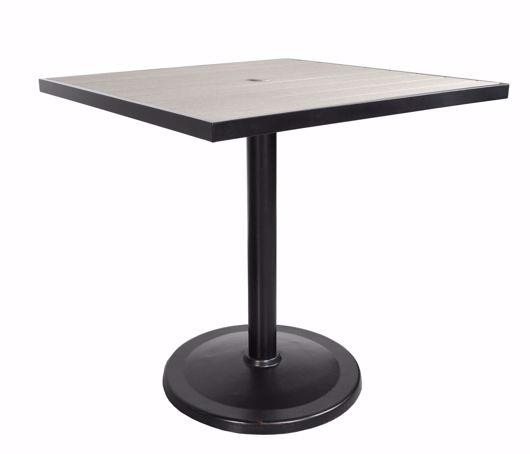 "Picture of KENSINGTON 42"" SQUARE PEDESTAL BALCONY TABLE"