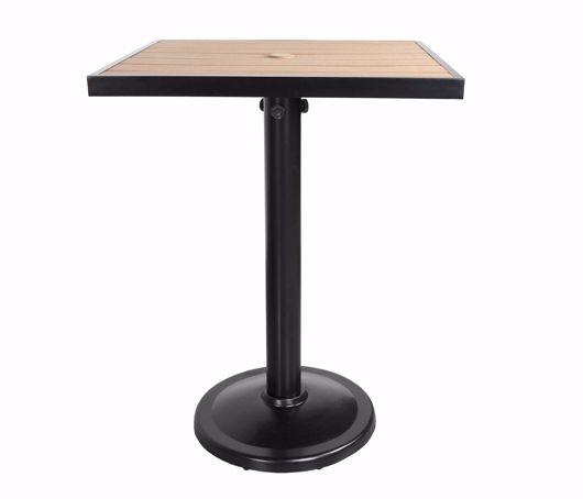 "Picture of KENSINGTON 36"" SQUARE PEDESTAL BALCONY TABLE"