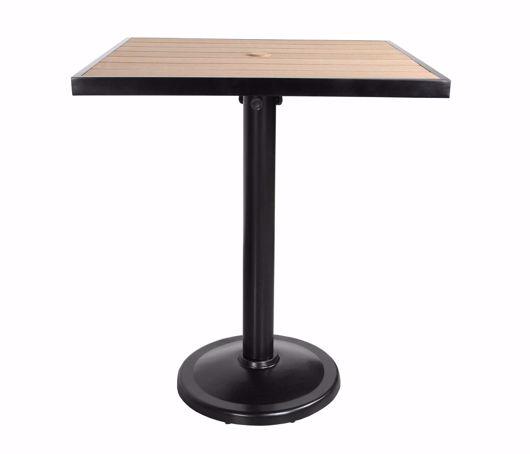 "Picture of KENSINGTON 32"" SQUARE PEDESTAL BALCONY TABLE"