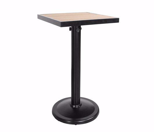 "Picture of KENSINGTON 24"" SQUARE PEDESTAL BALCONY TABLE"