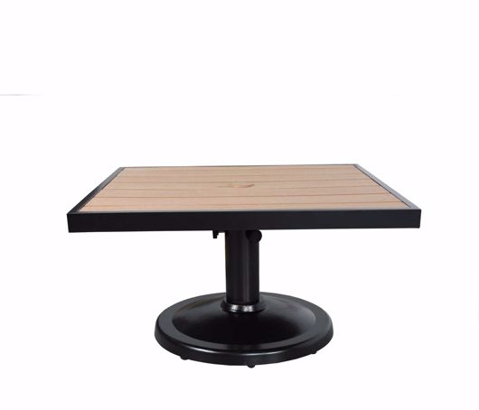 """Picture of KENSINGTON 36"""" SQUARE PEDESTAL COFFEE TABLE"""