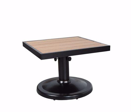 "Picture of KENSINGTON 24"" SQUARE PEDESTAL SIDE TABLE"