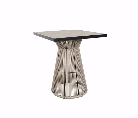 """Picture of COVE 36"""" SQUARE BAR TABLE"""