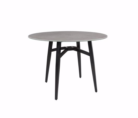 """Picture of GRAMERCY CERAMIC 40"""" ROUND DINING TABLE"""