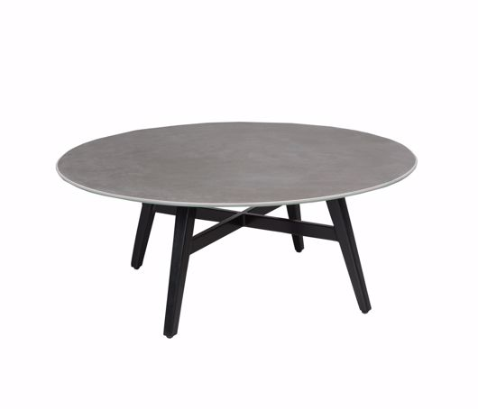 """Picture of GRAMERCY CERAMIC 40"""" ROUND COFFEE TABLE"""
