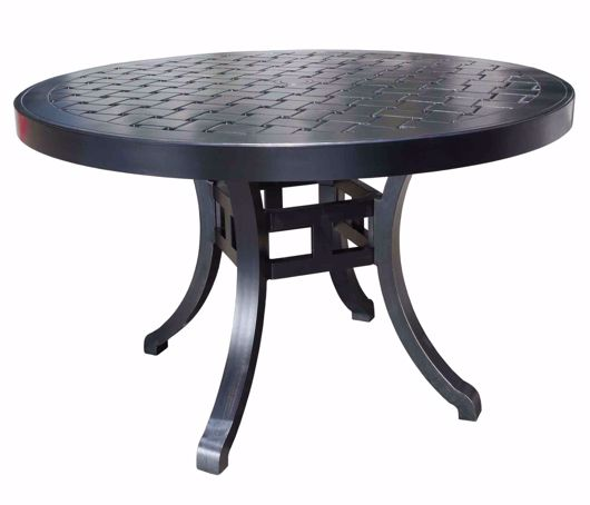 """Picture of HAMPTON 48"""" ROUND DINING TABLE"""