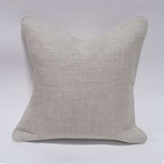 """Picture of 20"""" SQUARE DOWN PILLOW WITH WELT"""