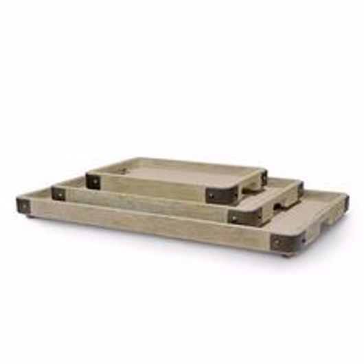 Picture of BROCKTON TRAYS, SET OF 3
