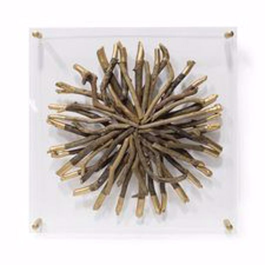Picture of ACRYLIC DRIFTWOOD WALL DECOR ROUND