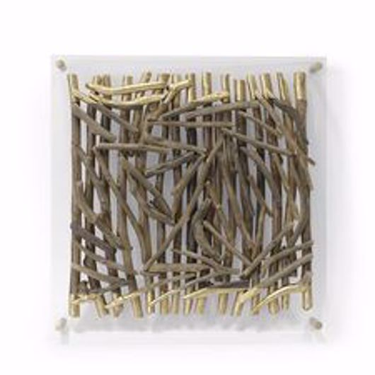 Picture of ACRYLIC DRIFTWOOD WALL DECOR SQUARE