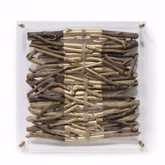 Picture of ACRYLIC DRIFTWOOD WALL DECOR STRIPE