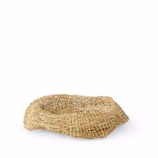 Picture of ANDORRA WICKER BOWL, NATURAL