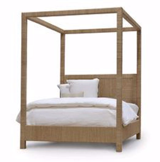 Picture of WOODSIDE CANOPY BED CA KING, NATURAL