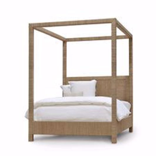 Picture of WOODSIDE CANOPY BED QUEEN, NATURAL