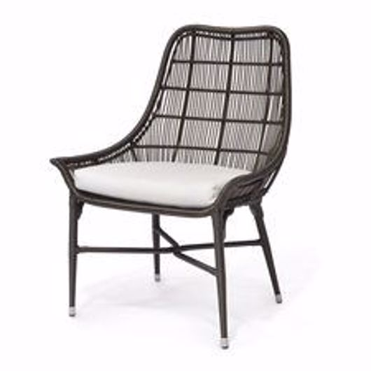 Picture of LUCCA OUTDOOR DINING CHAIR ESPRESSO