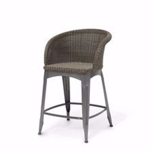 """Picture of NAVY OUTDOOR 24"""" COUNTER STOOL"""