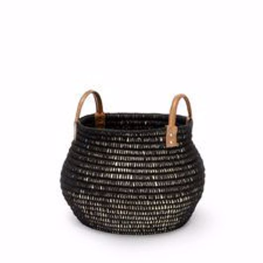 Picture of CAIRO BASKET BLACK SMALL