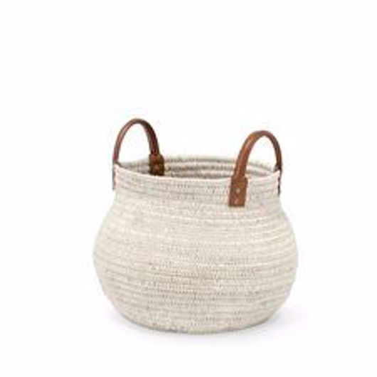 Picture of CAIRO BASKET WHITE SMALL